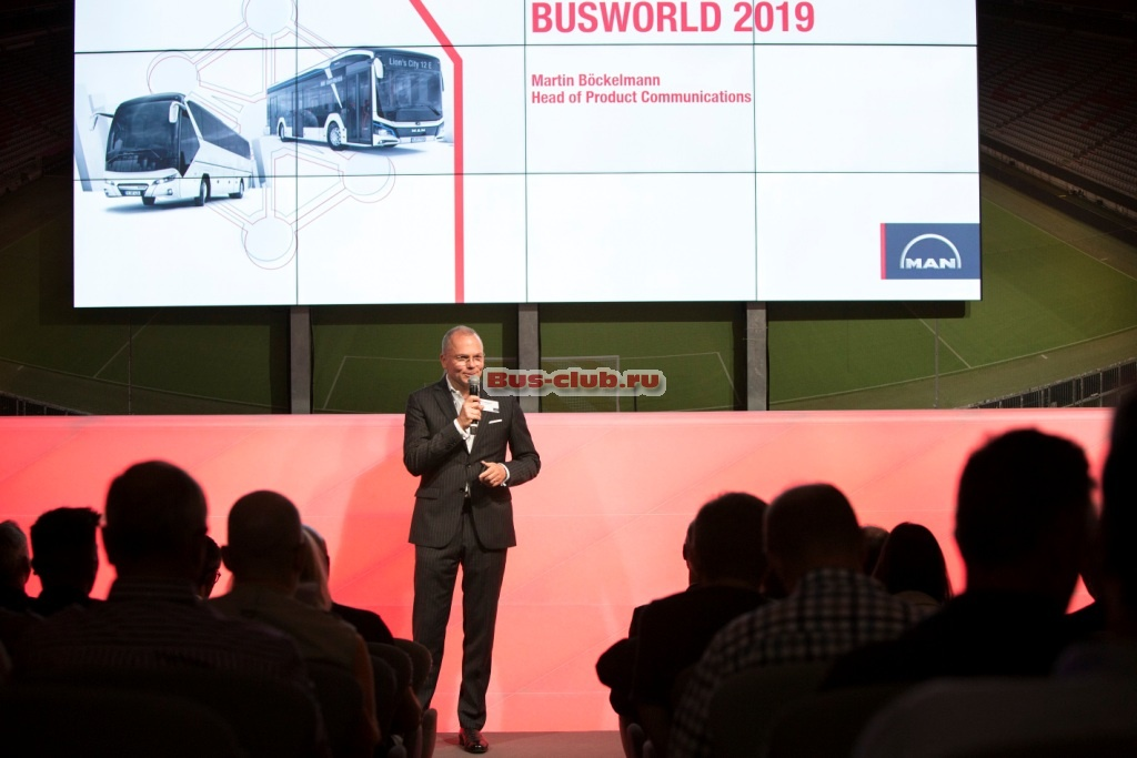 MAN на выставке Busworld Europe 2019