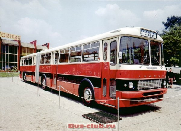 фотография  автобуса Ikarus 180 10.4 D (192 Hp) Bus-club.ru