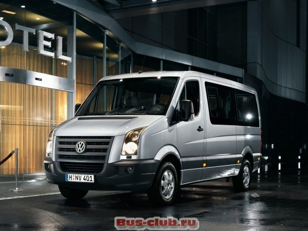 фотография  автобуса Volkswagen Crafter 2.5 R5 TDI (109 Hp) Bus-club.ru