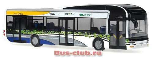 фотография  автобуса MAN Lion's City Hybrid Bus-club.ru