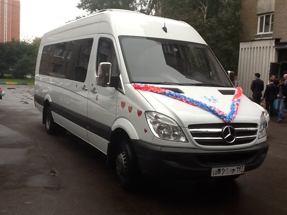 Аренда автобуса Mercedes Benz Sprinter