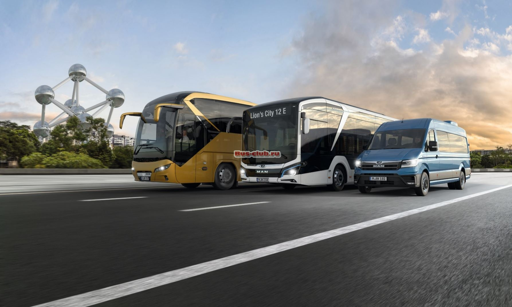 MAN Truck & Bus на выставке Busworld Europe 2019